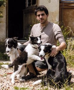 Sylvain et ses chiens